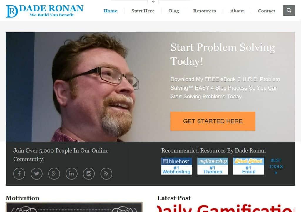 Dade Ronan Website