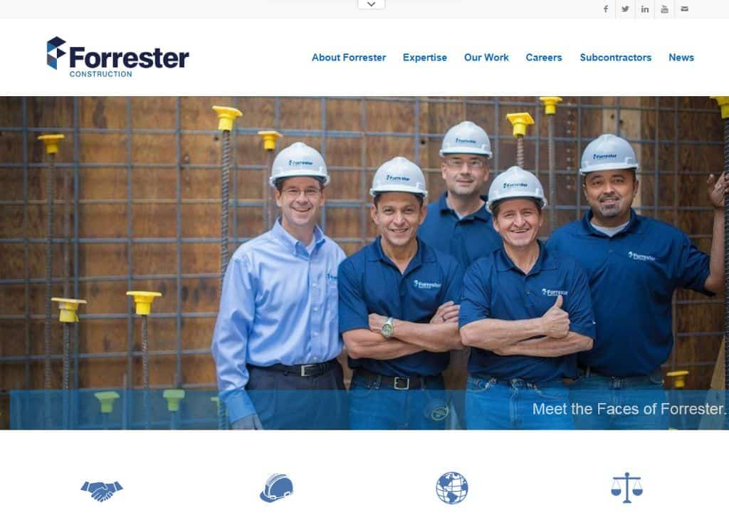 Forrester Construction Website