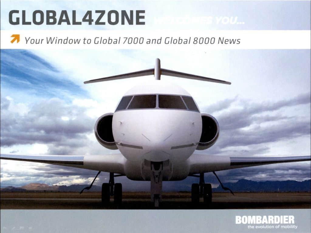 Global 7000 8000 TV