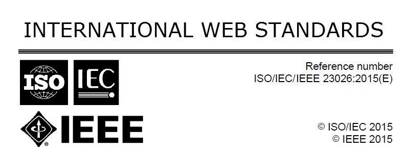 Management of Websites Standards ISO-IEC-IEEE 23026