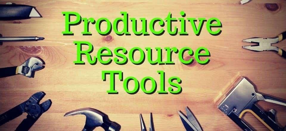 Productive Resource Tools